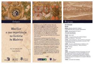 Colóquio: Machico, a sua importância na História da Madeira