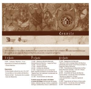 Convite / Programa da 2ª Edição - 2007